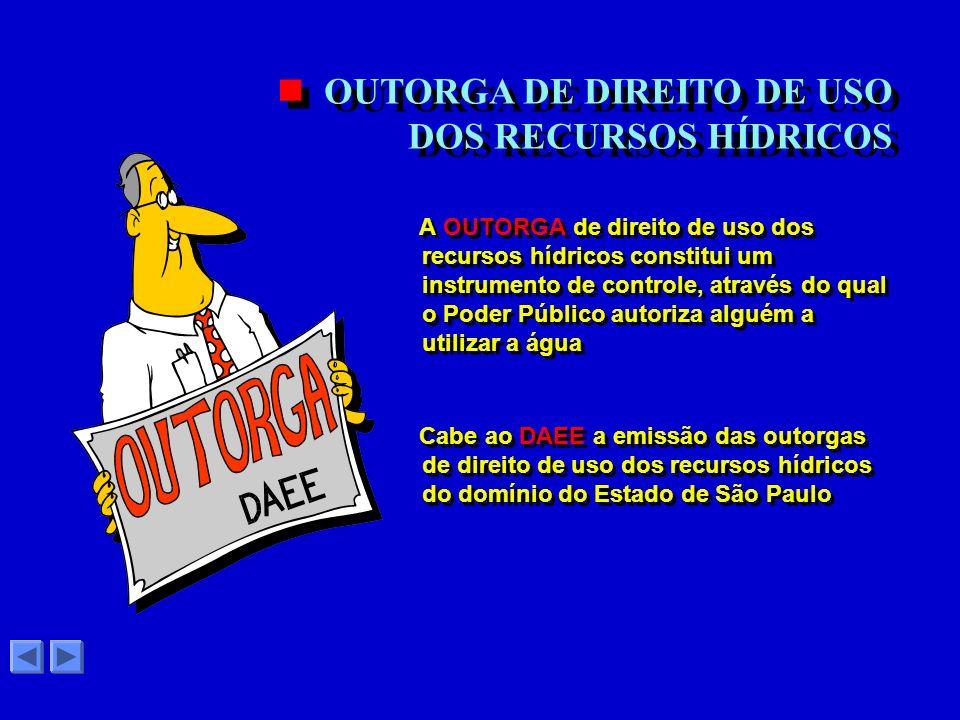 Para gerenciar o uso dos recursos hídricos do Estado de São Paulo a lei 7.663/91 prevê quatro instrumentos: COMO GERENCIAR O USO DAS ÁGUAS ? ? a COBRA