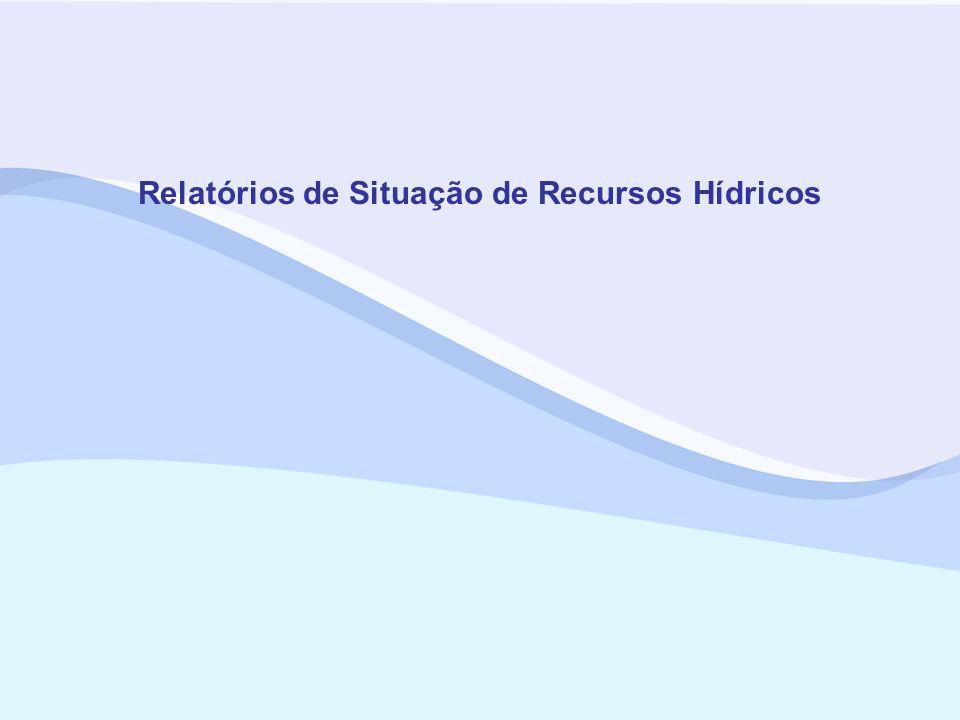 Relatórios de Situação de Recursos Hídricos
