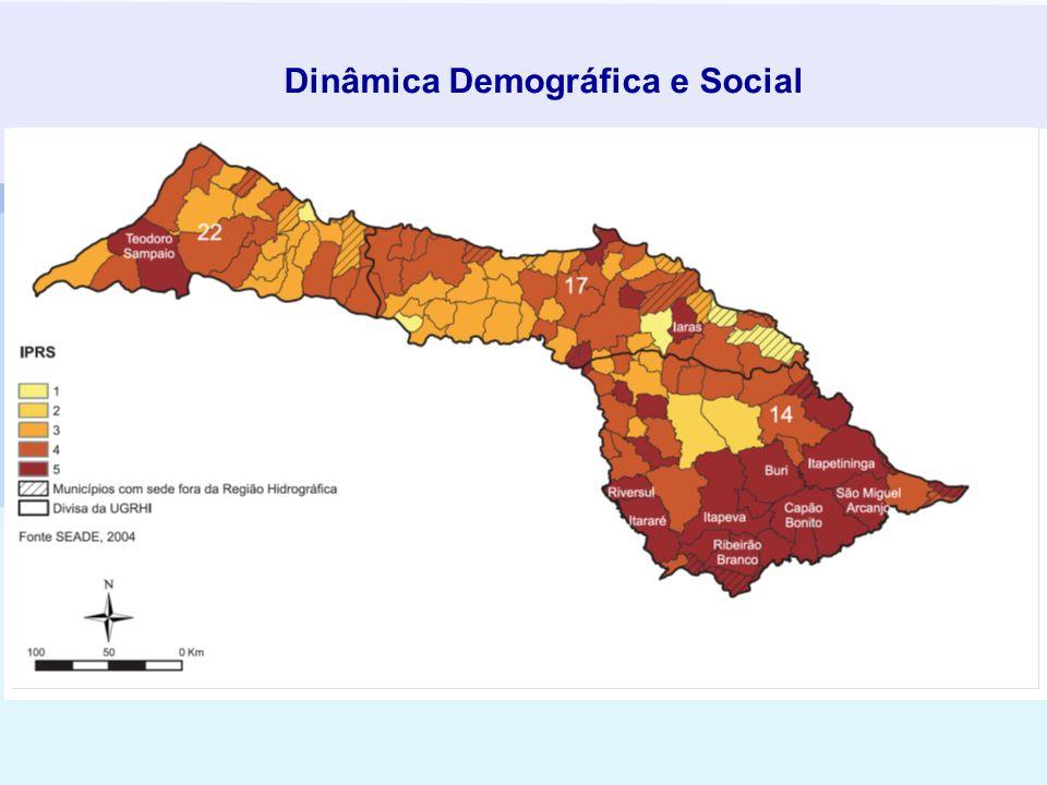 Dinâmica Demográfica e Social