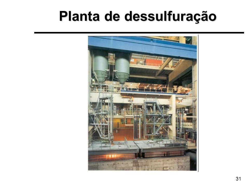 31 Planta de dessulfuração