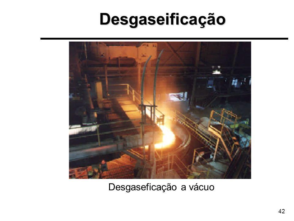42 Desgaseficação a vácuoDesgaseificação