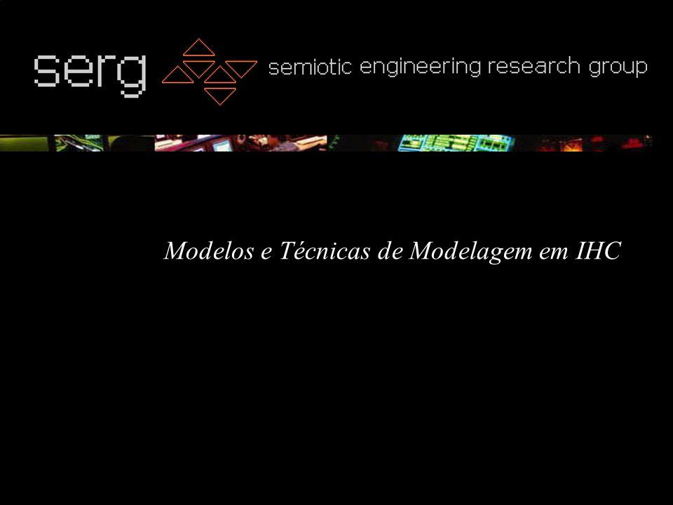 Modelos e Técnicas de Modelagem em IHC
