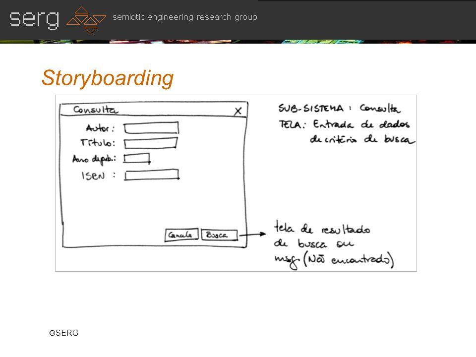 SERG Storyboarding