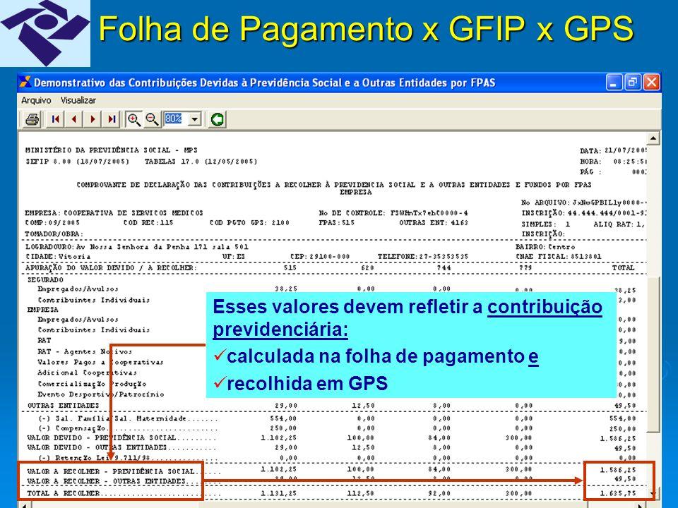 9 Folha de Pagamento XGFIPXGPS