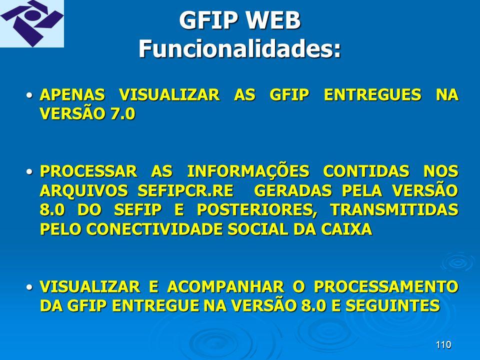109 SISTEMA GFIP WEB