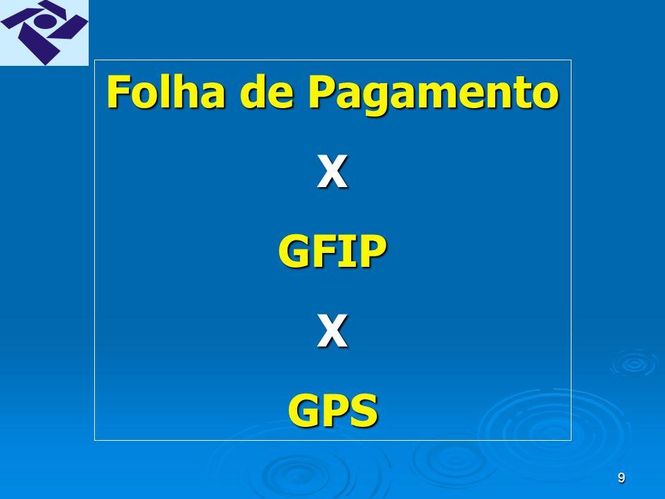 49 GFIP COMPETÊNCIA 13 Será gerada a partir da versão 8.0 do SEFIP.Será gerada a partir da versão 8.0 do SEFIP.