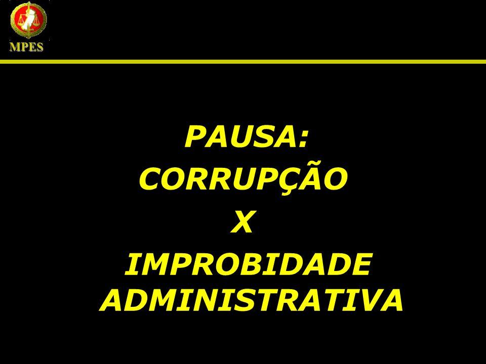 SUJEITOS DA LEI DE IMPROBIDADE ADMINISTRATIVA MPES