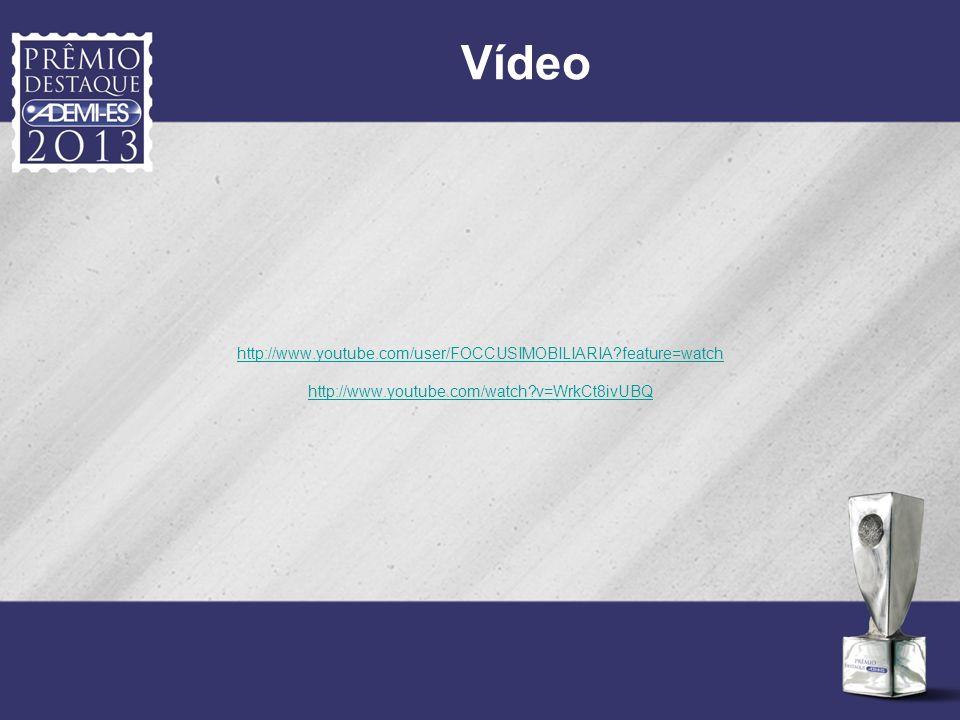 Vídeo http://www.youtube.com/user/FOCCUSIMOBILIARIA?feature=watch http://www.youtube.com/watch?v=WrkCt8ivUBQ