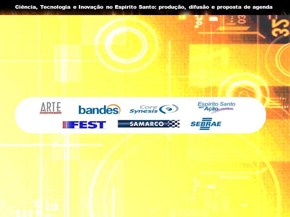 Ciência, Tecnologia e Inovação no Espírito Santo: produção, difusão e proposta de agenda Algumas observações sobre os recursos destinados a C&T no ES antes até 2004 Com a criação da FAPES em 2004 inicia-se efetivamente o processo de consolidação do Sistema Estadual de C&T; No ano de 2005 a FAPES realizou contratos que somaram R$ 11.497.182,00; Em 2006 foi criado NIT-ES - Núcleo de Inovação Tecnológica do Espírito Santo, com a participação da UFES, INCAPER, CEFETES, SECT/FAPESES em Ação, FINDES e FEST.