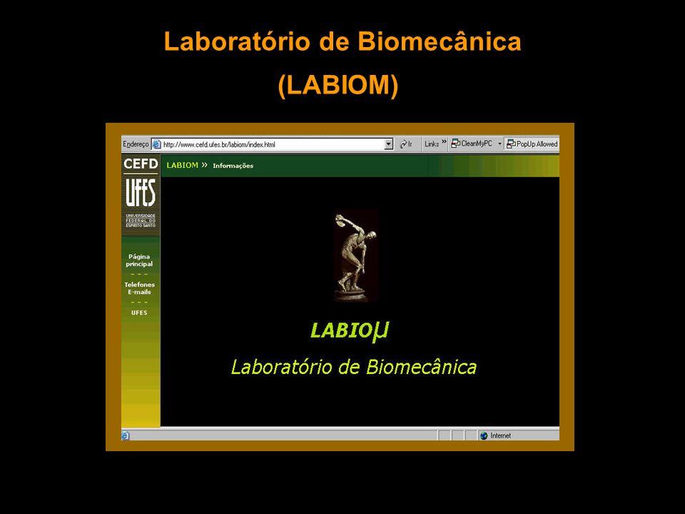 Laboratório de Biomecânica (LABIOM)