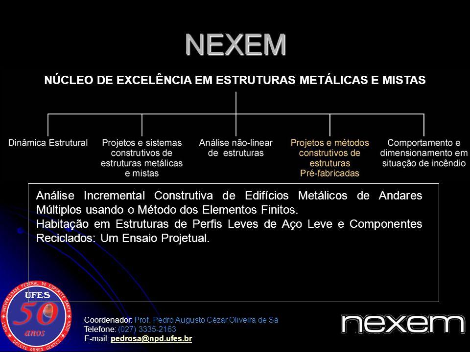 Comportamento de Estruturas Metálicas e Mistas em Situação de Incêndio.