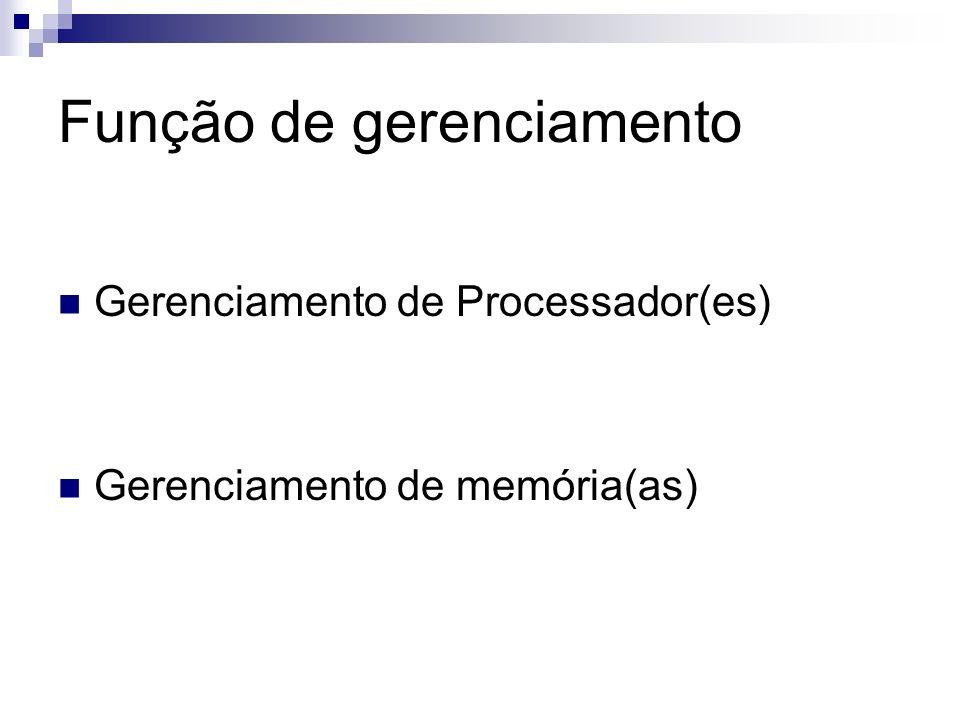Gerenciamento de Processadores Programas são divididos em tarefas (instruções) Processadores possuem um limite máximo de instruções que podem ser executadas por unidade de tempo