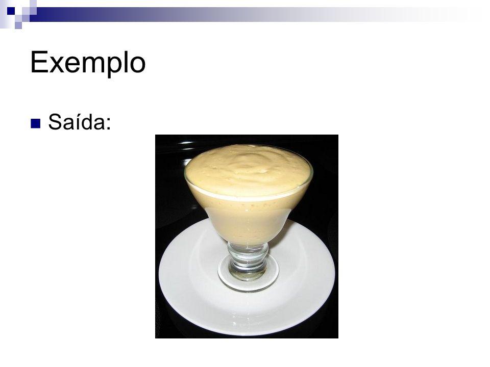 Exemplo A receita pode ser chamada de algoritmo ambíguo Quando amornar, coloque para bater juntamente com os demais ingredientes que estão no liquidificador Coloque no congelador até estar no ponto para tirar da forma O Português é uma linguagem ambígua