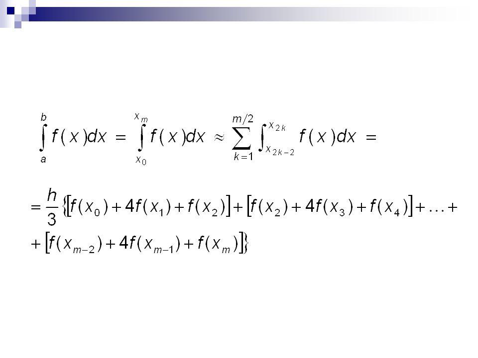 Exercício Estimar a integral de e^x no intervalo de zero a um usando a regra 1/3 de Simpson repetida 3 vezes