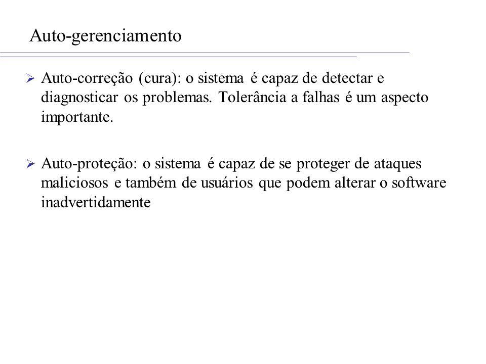 Preocupações na AdaptaçãoIII/III Segurança: –Grau de segurança da adaptação.