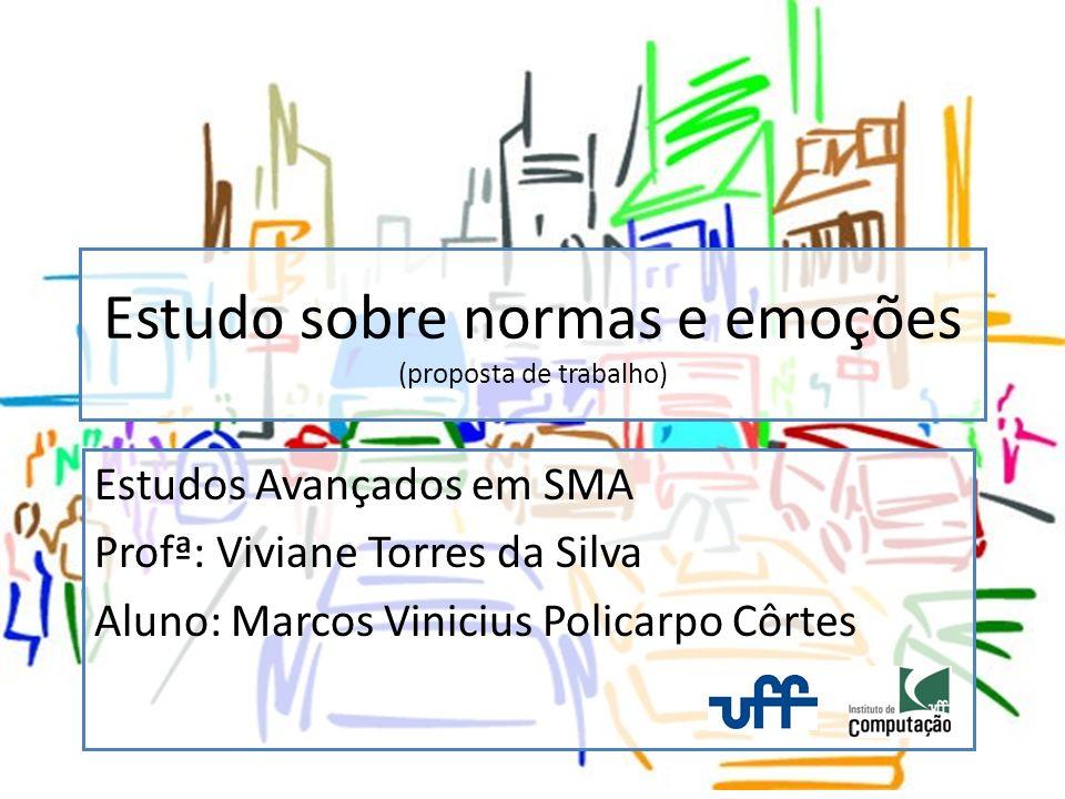 Revisão Côrtes, 2009, Framework motivacional aplicado a NPCs, UFF Morgado, 2005, Integração de Emoção e Raciocínio em Agentes Inteligentes, Universidade de Lisboa
