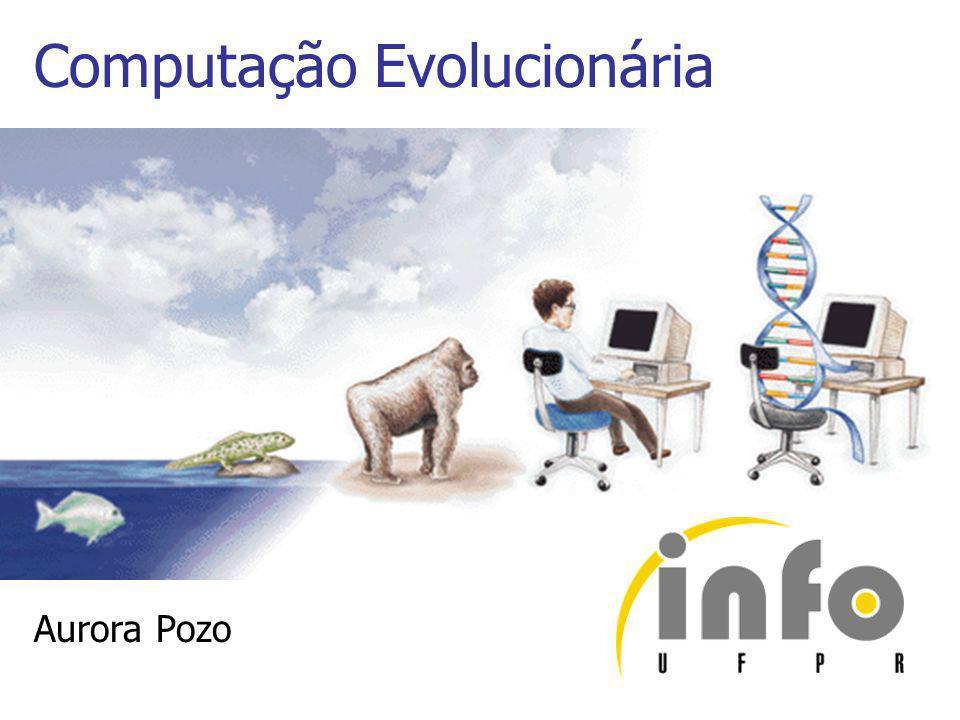 Visão Geral do Algoritmo Evolucionário 1.Gerar uma população inicial aleatoriamente 2.