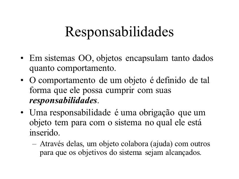 Responsabilidades O que é Responsabilidade.–Um contrato ou obrigação de um tipo ou classe.