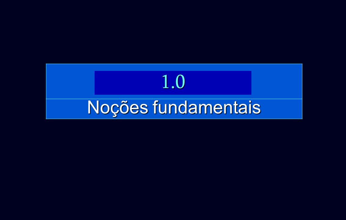 Noções fundamentais 1.0