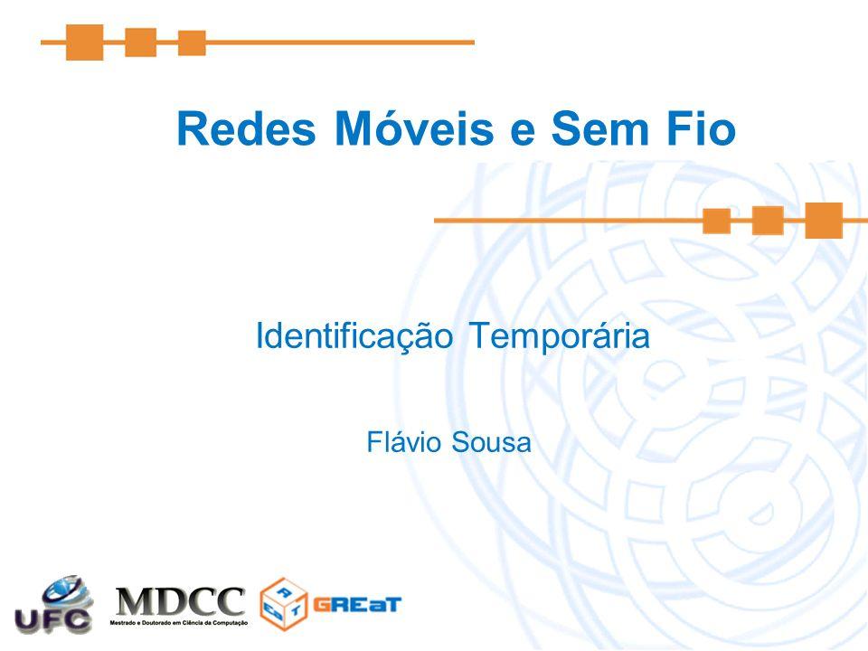 Redes Móveis e Sem Fio Identificação Temporária Flávio Sousa