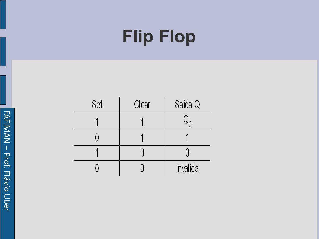 FAFIMAN – Prof. Flávio Uber Flip Flop