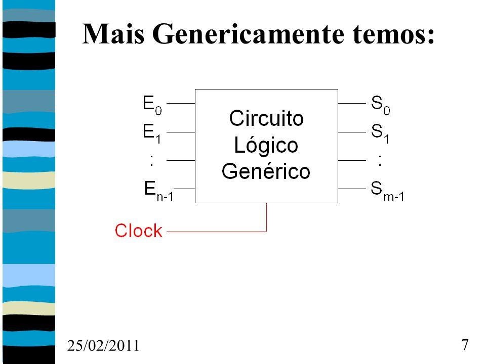 25/02/2011 8 Revendo Números Binários Representação de valores decimais em binários.