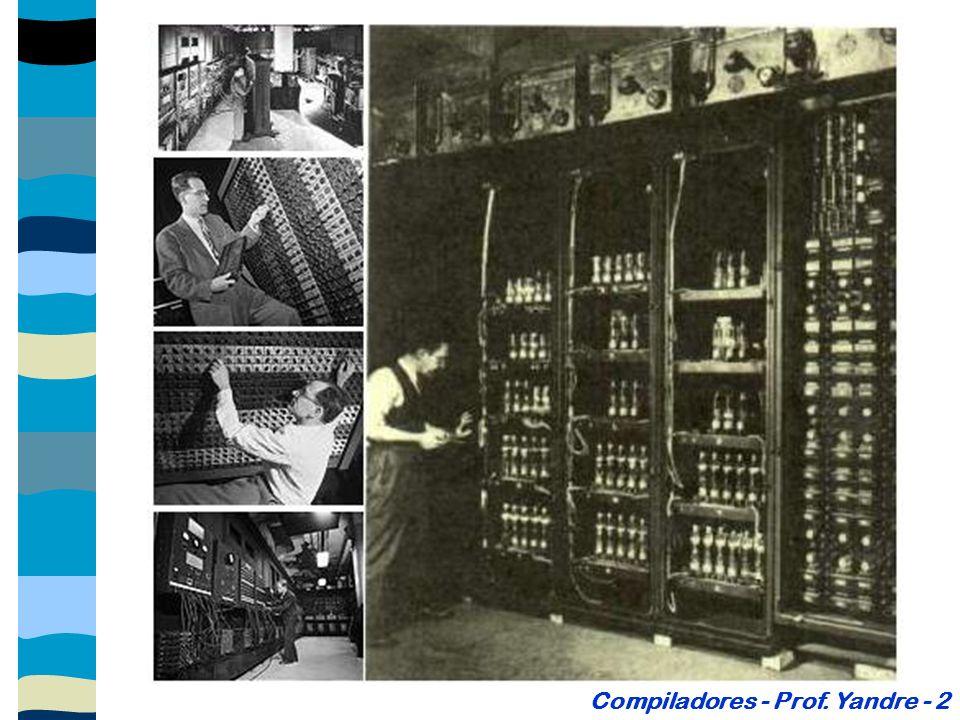 Compiladores - Prof. Yandre - 2