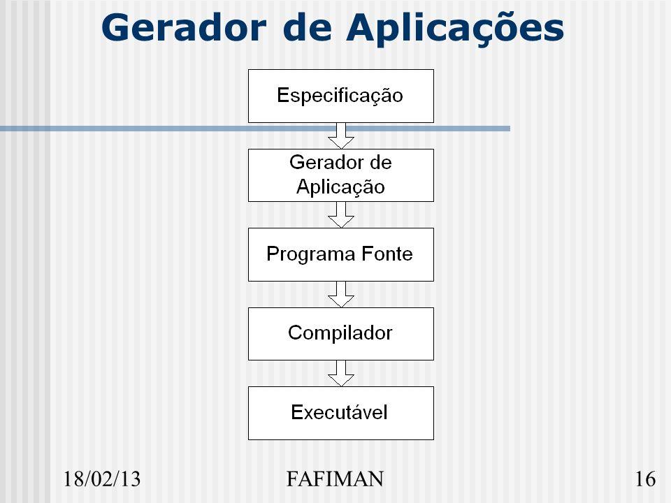 18/02/1316FAFIMAN Gerador de Aplicações