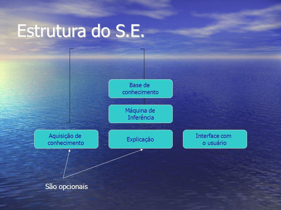 Estrutura do S.E.