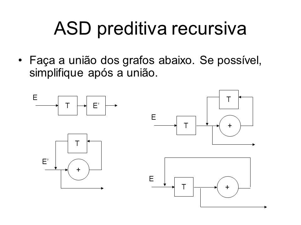 ASD preditiva recursiva 2.