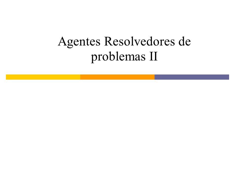 Agentes Resolvedores de problemas II
