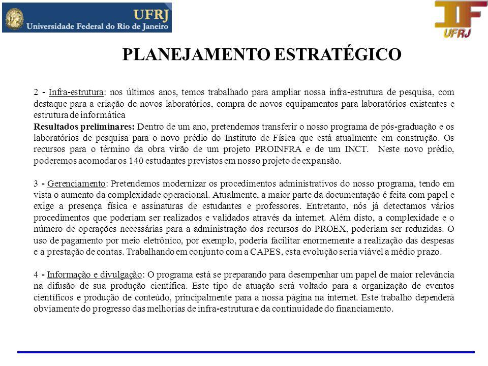 FINANCIAMENTO Projetos ativos em 2007 e 2008 Institutos do Milênio CNPq-MCT: - Informação Quântica - Iniciado em 2001 e coordenado pelo Prof.