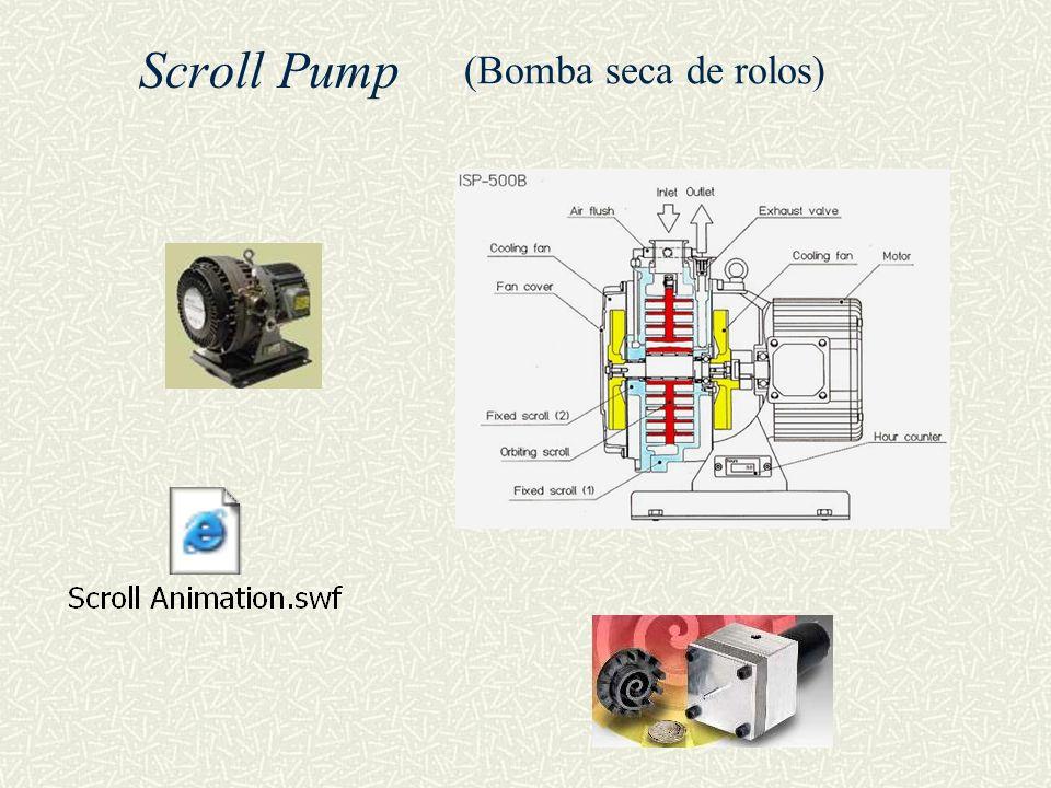 Scroll Pump (Bomba seca de rolos)