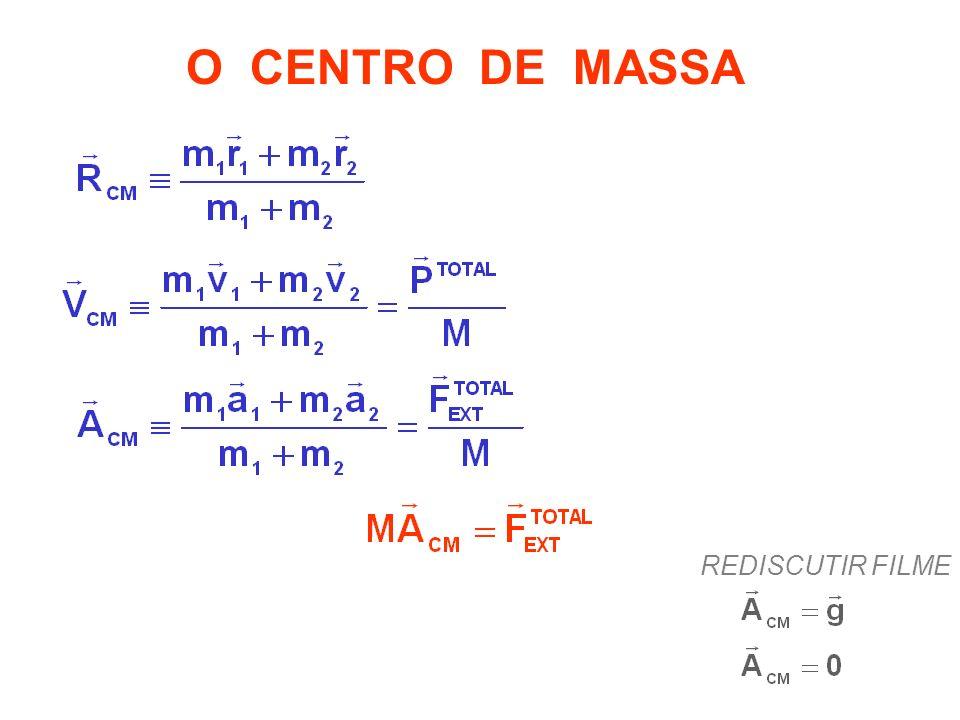O CENTRO DE MASSA REDISCUTIR FILME