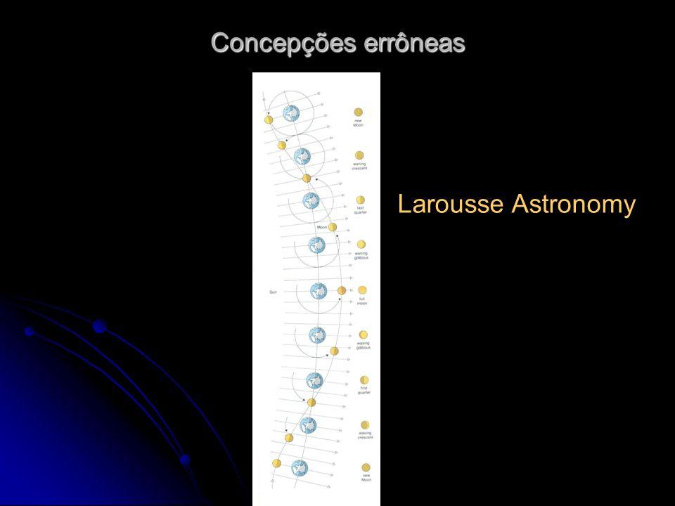 Larousse Astronomy Concepções errôneas