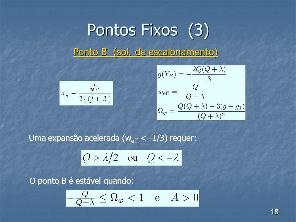 18 Pontos Fixos (3) Ponto B (sol.