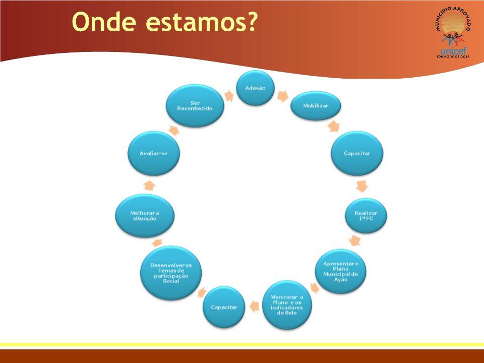 Sistema de avaliação Agrupamento: O UNICEF agrupa os municípios de realidades semelhantes dentro de um mesmo estado para efeito de comparação.