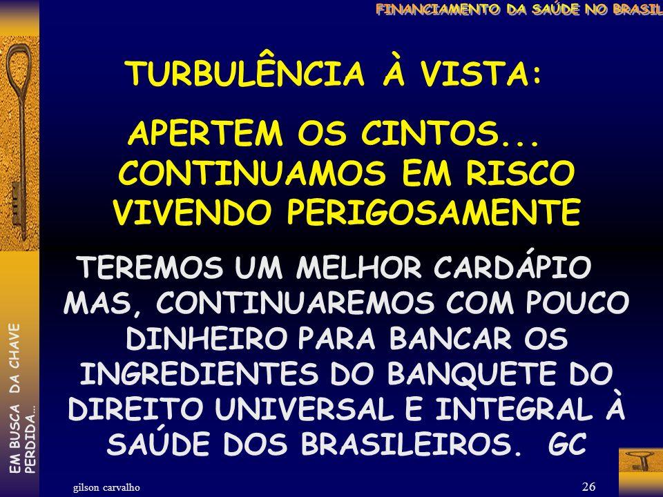 gilson carvalho EM BUSCA DA CHAVEPERDIDA… 25 ONDE ESTAREMOS NÓS.