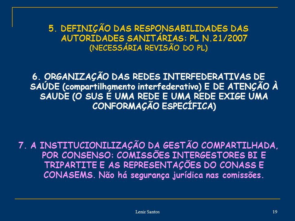 Lenir Santos 19 5.