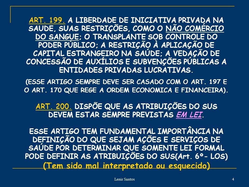 Lenir Santos 4 ART.199.
