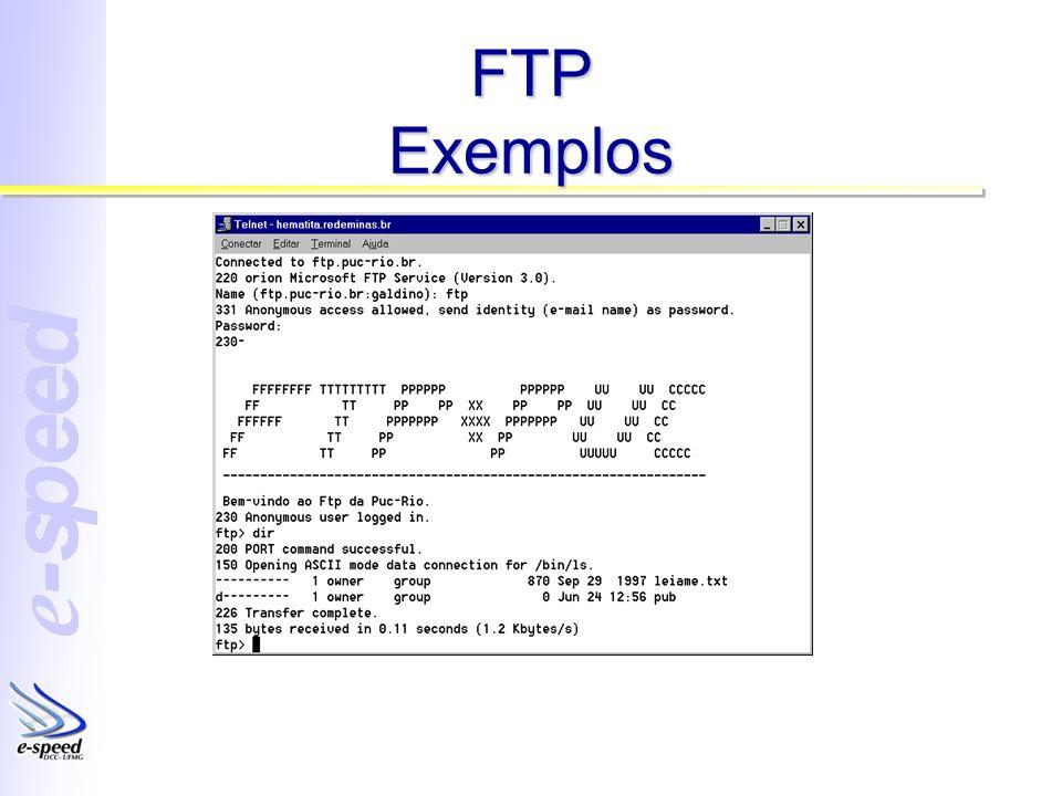 FTP Exemplos