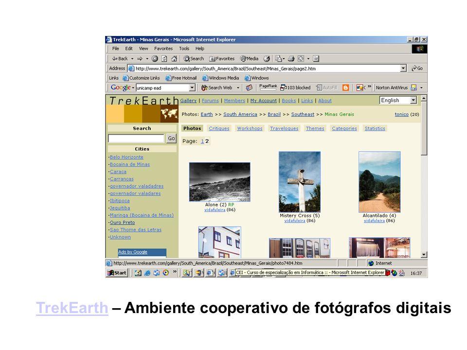 TrekEarthTrekEarth – Ambiente cooperativo de fotógrafos digitais