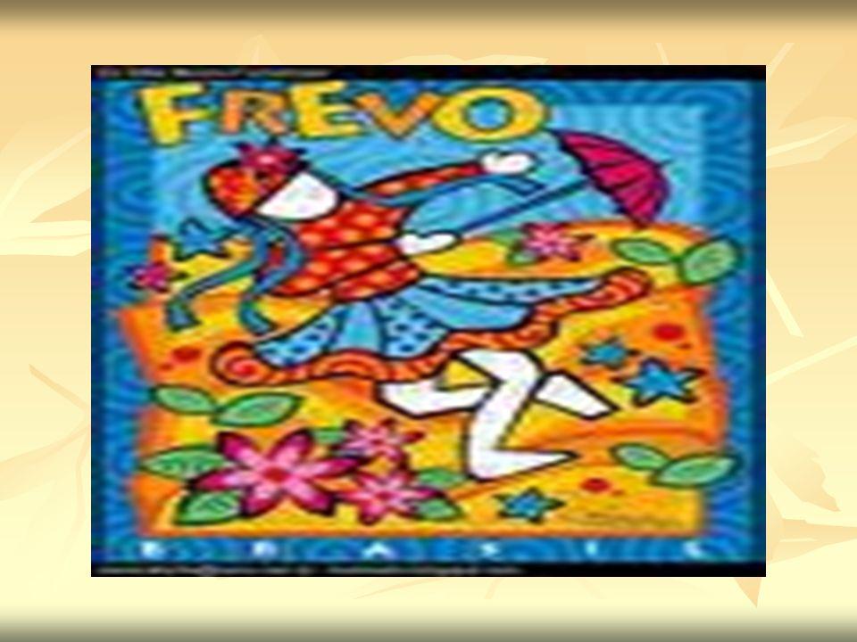 Tipos de Frevo FREVO-DE-RUA : É o mais comumente identificado como simplesmente frevo, cujas características não se assemelham com nenhuma outra música brasileira, nem de outro país.
