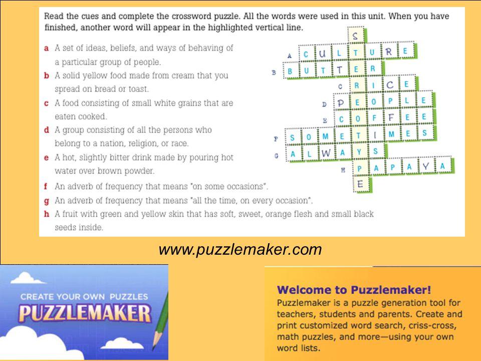 www.puzzlemaker.com
