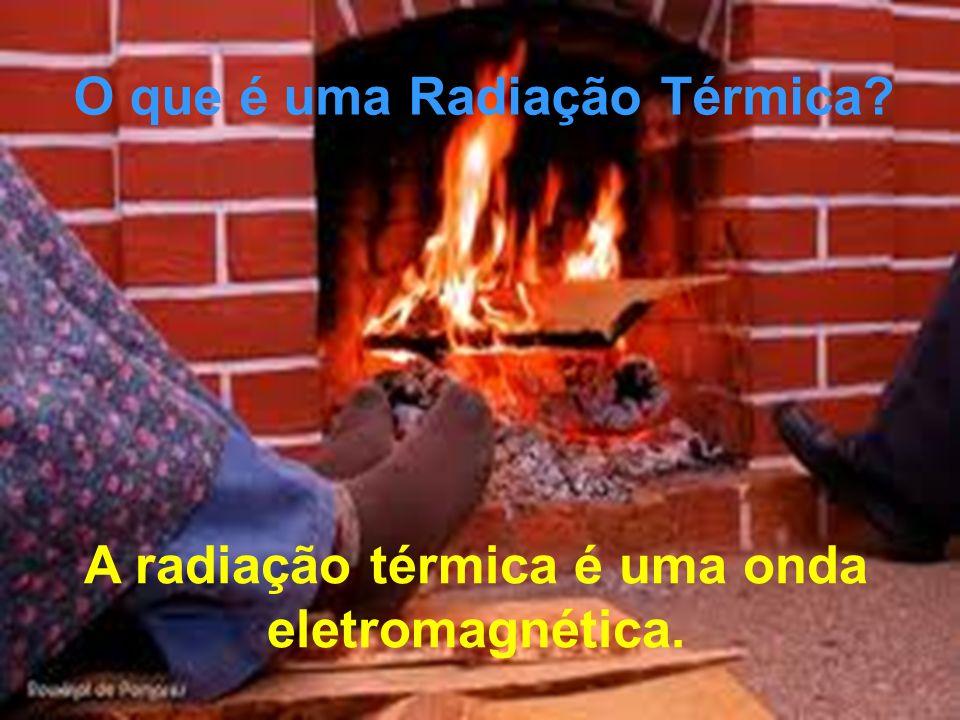 O que é uma Radiação Térmica? A radiação térmica é uma onda eletromagnética.