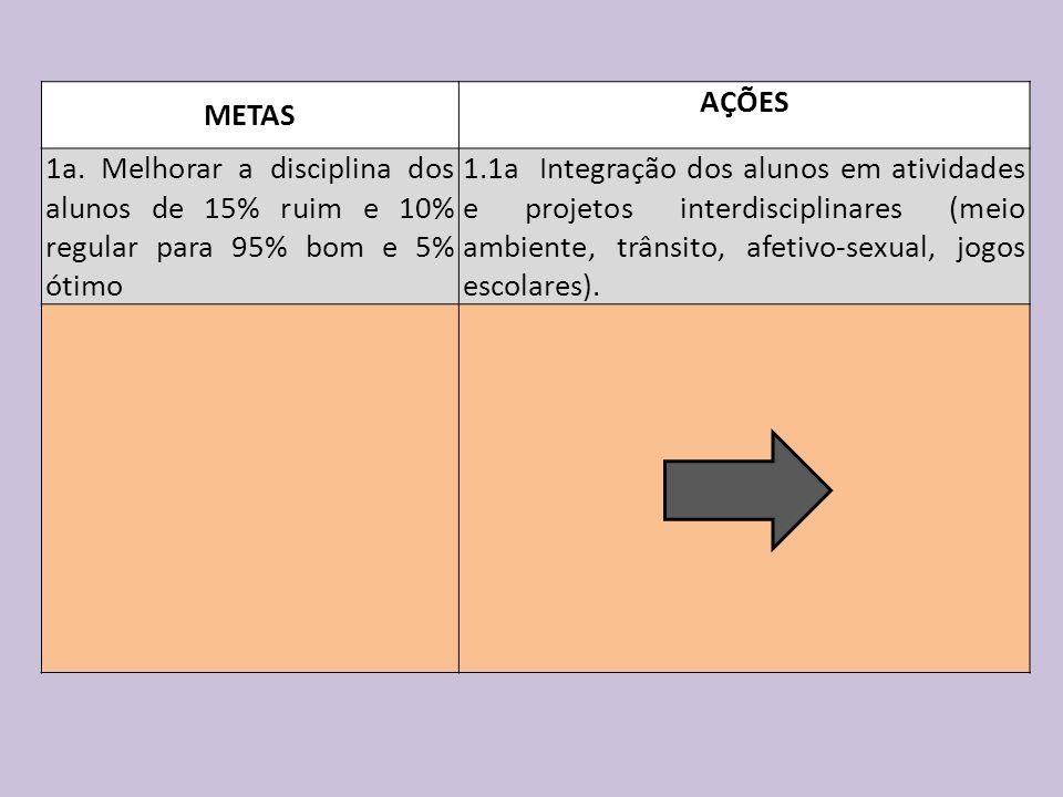 METAS AÇÕES 1a.