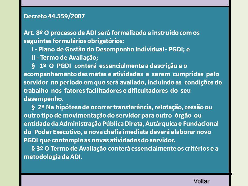 Decreto 44.559/2007 Art.