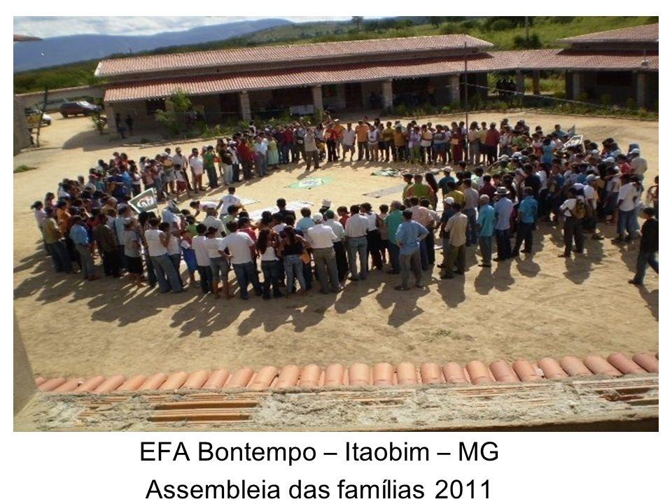EFA Bontempo – Itaobim – MG Assembleia das famílias 2011