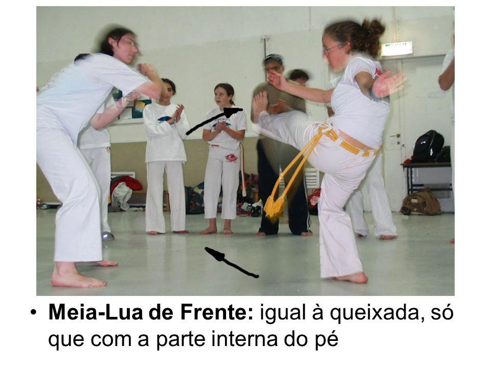 Ginga: é o movimento básico da capoeira.É a parte da dança da capoeira.