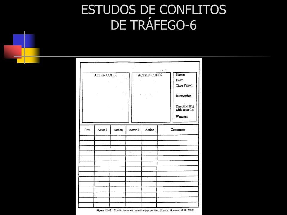 ESTUDOS DE CONFLITOS DE TRÁFEGO-6